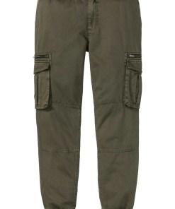 Pantaloni cargo Regular Fit, drepţi - verde