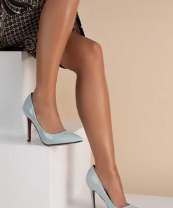 Pantofi stiletto Sasha V2 Albastri