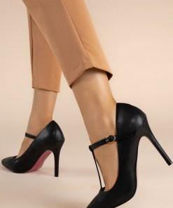 Pantofi stiletto Clairo Negri