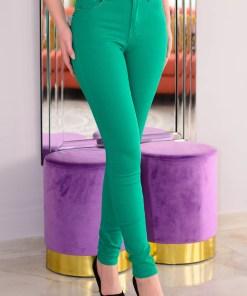 Blugi Top Waist Green