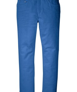 Pantaloni stretch Regular Fit Straight - albastru