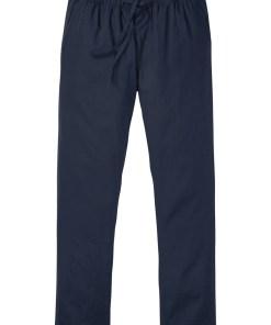 Pantaloni fără încheiere cu in în compoziție, Regular Fit, Straight - albastru