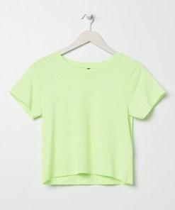 Sinsay - Tricou de damă - Galben