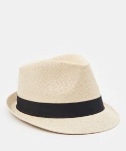 Sinsay - Pălărie fedora - Bej