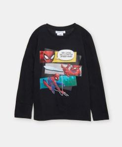 Sinsay - Tricou Spider-Man - Negru