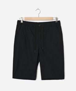 House - Pantaloni scurți cu talie elastică - Negru