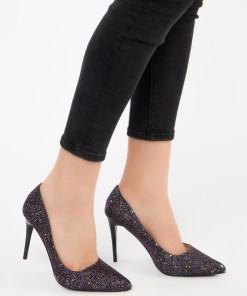 Pantofi stiletto Avelia Mov