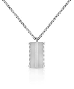 Lant argintiu, Santa Barbara Polo, pentru barbati, din otel inoxidabil, SBJ.4.5001-1