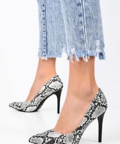 Pantofi stiletto Caren Albi