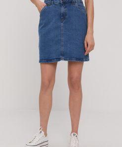 Noisy May - Fusta jeans PPY8-SDD03B_55X