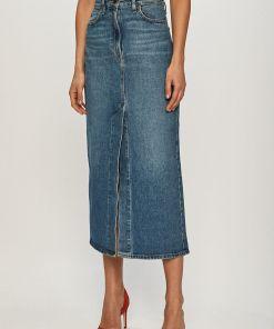 Lee - Fusta jeans PPY8-SDD0CC_55X