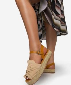 Sandale dama Malvina Bej