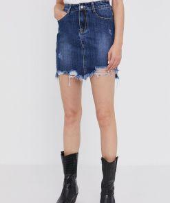 Answear Lab - Fusta jeans BBY8-SDD02W_55X
