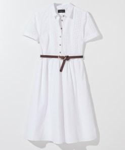 Mohito - Rochie-cămașă cu cordon - Alb