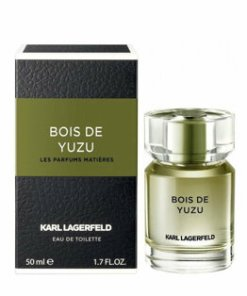 Apa de toaleta Karl Lagerfeld Les Parfums Matieres Bois de Yuzu pentru barbati