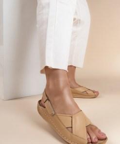 Sandale piele naturala Otniela Bej