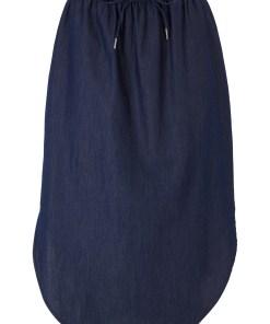 Fustă blugi cu bată elastică - albastru