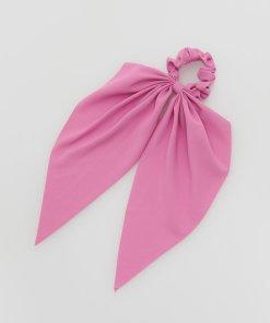 Reserved - Elastic de păr cu fundiță decorativă - Roz