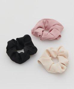 Reserved - Set de 3 elastice de păr pastelate - Multicolor