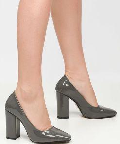 Pantofi cu toc Sticker V1 Gri