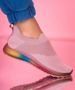 Adidasi Textil Roz Ollie X2281