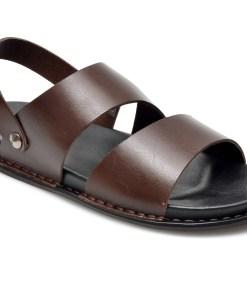 Sandale OTTER maro, 312, din piele naturala
