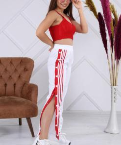 Pantaloni trening fâș pentru dama - cod EM99EN-HIB