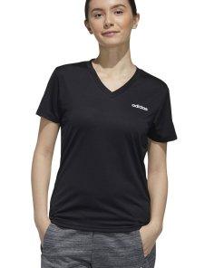 Tricou regular fit cu decolteu in V - pentru fitness Designed2Move 3190941