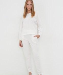 Sinsay - Pijama pentru femei - Ivory