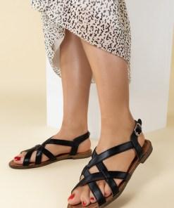 Sandale dama Talina Negre