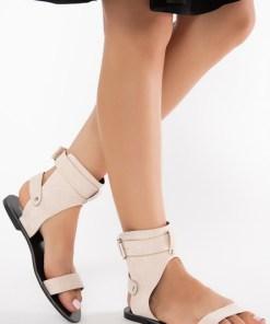 Sandale dama Mirella Bej