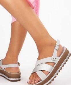 Sandale dama Iga Gri