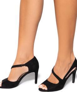 Pantofi dama Elida, Negru