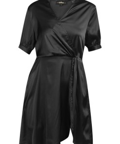 usha BLACK LABEL Rochie tip bluză  negru