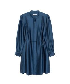 MANGO Rochie tip bluză 'Albani'  bleumarin
