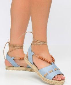 Sandale dama Valery Albastre