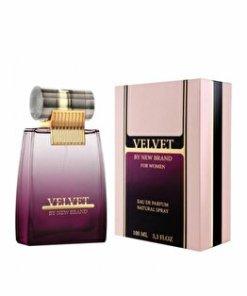 Apa de parfum New Brand Perfumes Velvet, 100 ml, pentru femei