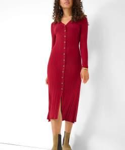 Rochie midi tip creion din tricot Piros