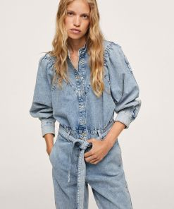 Mango - Salopeta jeans Lola UBY8-SKD00O_54X