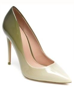 Pantofi ALDO kaki, STESSY_250, din piele ecologica