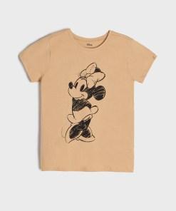 Sinsay - Tricou Minnie Mouse - Bej