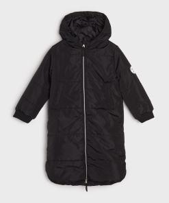 Sinsay - Jachetă matlasată - Negru