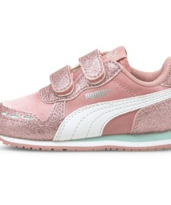 Pantofi sport copii Puma Cabana Racer Glitz V Inf 37098609