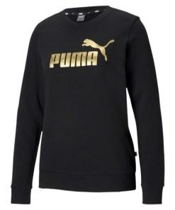 Bluza femei Puma ESS Metallic Logo Crew TR 58689401