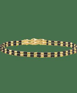 Bratara din aur galben de 14K 15786
