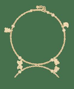 Bratara din aur galben de 14K 20595