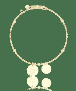 Bratara din aur galben de 14K 20601