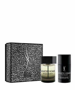 Set cadou Yves Saint Laurent La Nuit De L'Homme (Apa de toaleta 100 ml + Deostick 75 ml), pentru barbati