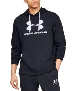 Hanorac barbati Under Armour Sportstyle Terry Logo 1348520-001