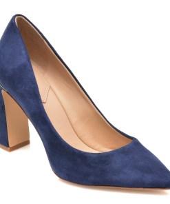 Pantofi ALDO bleumarin, SEIRITH410, din piele intoarsa